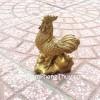 Gà đồng đứng trên nén vàng nhỏ D252
