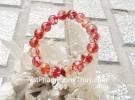 Chuỗi thạch anh tóc đồng đỏ A+ Urugruay 18 hạt S6228-2174