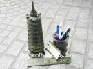Tháp Văn Xương Lam Ngọc 9 tầng đựng bút GM068