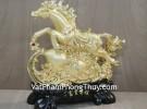 Ngựa phi nước đại trên hồ lô vàng G114A