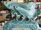 Cá Kim long vân ngọc xanh mây K090M