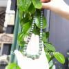 Chuỗi đeo cổ Ruby xanh hạt vát cạnh S6331-8360
