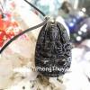 Phật bản mệnh đá hắc ngà tuổi Tý S6340-1