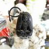 Phật đá hắc ngà tuổi Dậu S6340-7