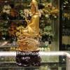 Phật quan âm vàng ngồi tòa sen H254G