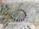 Chuỗi Hồng Lục Bảo Ruby xanh siêu cấp 20 hạt S6390-16338
