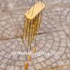 Chuông gió 12 ống nhôm vàng CG1215-17