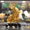 Hổ vàng leo núi đế gỗ C123A
