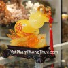 Hồ lô vàng cam trên tay phật C156A