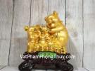 Hoàng gia bảy heo vàng trên đống tiền LN030