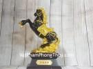Đại đế ngựa ô mão vàng đế gỗ LN125