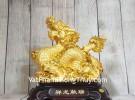 Vua rồng vàng cưỡi mây vàng LN148
