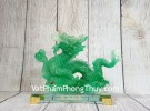 Thần rồng xanh ngọc trên gậy như ý LN155