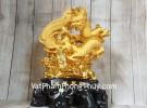 Thần rồng tiên phụng vàng kim sa LN157
