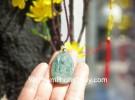 Phật bản mệnh Phỉ Thúy xanh đậm sắc sảo A+ nhỏ tuổi dậu S6865-7