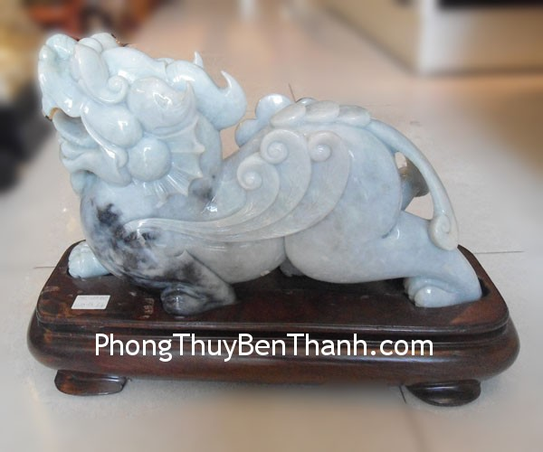 ty huu phi thuy dung trung thl02 01 Natural Feng shui Jadeite Pi Yao   THL 11 02