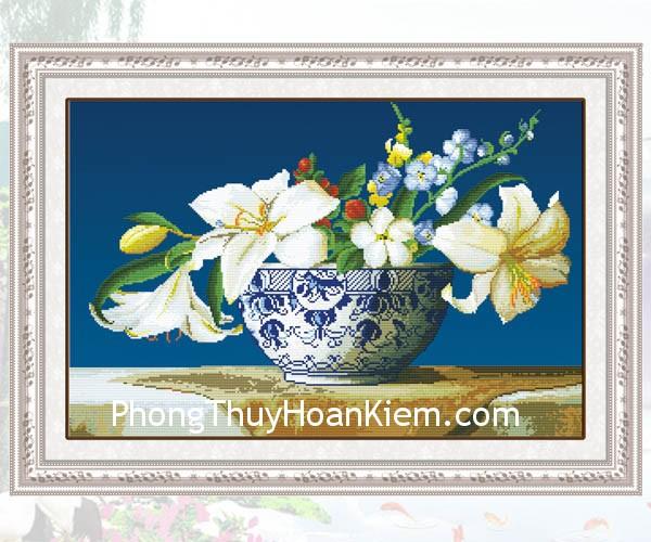 b14e2bea42nh hoa.jpg Treo tranh ở phương vị  Đào hoa sẽ có lợi cho đời sống tình cảm