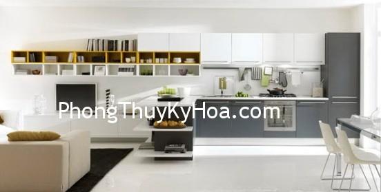 d74411b9e5anhba.jpg Phòng ăn thấp hơn phòng khách