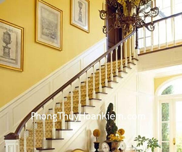 be3dfaea01thang1.jpg Tranh treo trên cầu thang, hành lang