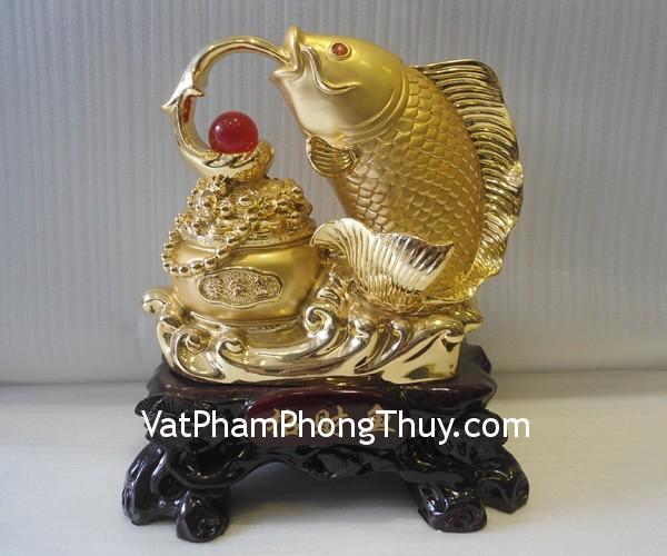 A187 ca chep vang 01 Hong Kong feng shui gold carp A187