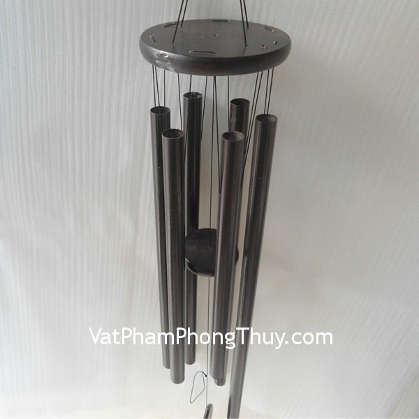 chuong gio c1262 Chuông gió 6 ống khủng bằng kim loại uy tín C1262