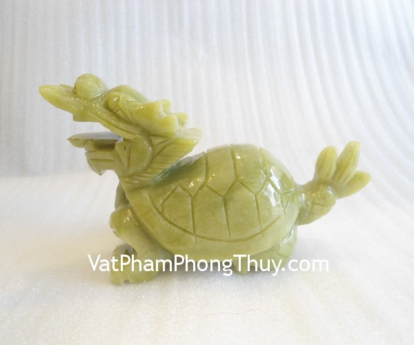 long quy m145 01 Feng shui turquoise stones dragon turtle M145