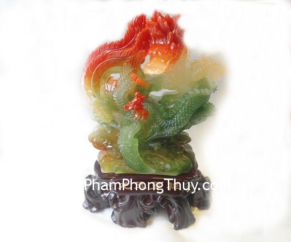 Long phung A153 01 Hong Kong feng shui dragon phoenix A153