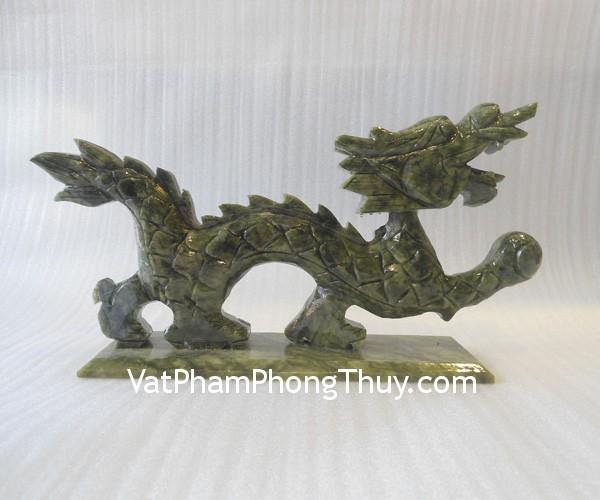 Rong lam ngoc H040 Feng shui turquoise stones dragon H040