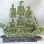 HM062 thuyen rong xanh 1 150x150 Thuyền rồng Lam Ngọc HM062