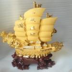 K095M thuyen vang 2 150x150 Thuyền rồng sa kim lớn K095M