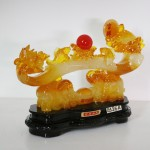 g126a nhu y luu ly 1 150x150 Gậy như ý vàng kết hợp cóc và voi kim bảo G126A
