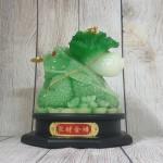 ln097 coc cong bap cai 150x150 Thiềm thừ xanh ngọc cõng bắp cải nguyên bảo LN097