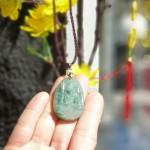 S6865 PBM phi thuy dau 2 150x150 Phật bản mệnh Phỉ Thúy xanh đậm sắc sảo A+ nhỏ tuổi dậu S6865 7