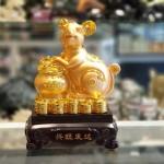 tm008 chuot vang om lu vang 150x150 Chuột vàng ôm lư vàng trên đống vàng TM008