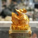 tm019 chuot vang om bap vang 150x150 Chuột đế thuỷ tinh ôm bắp vàng TM019